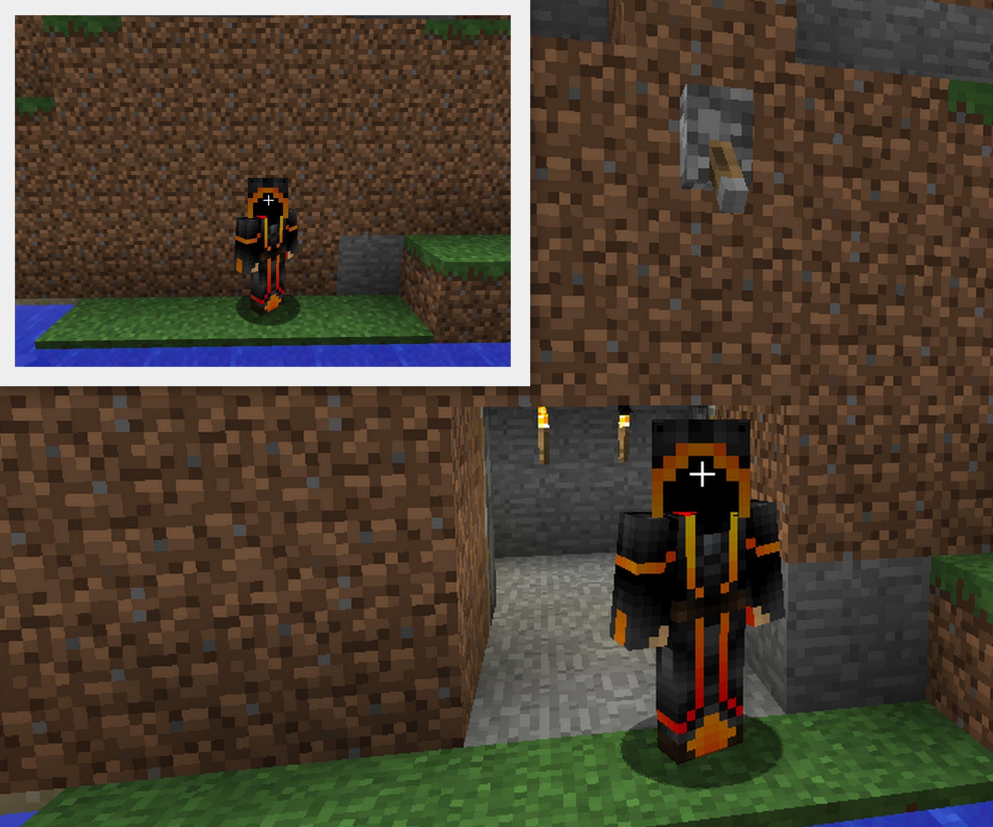 Super Secret Door In Minecraft 13 Steps