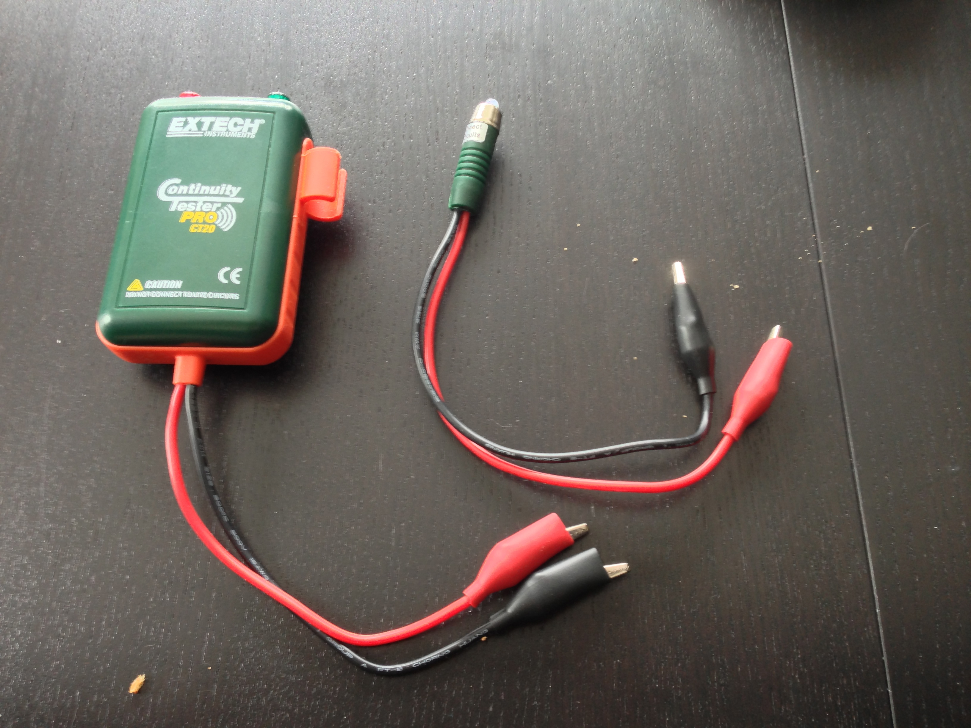 hight resolution of tracing cat5 cables with a continuity tester