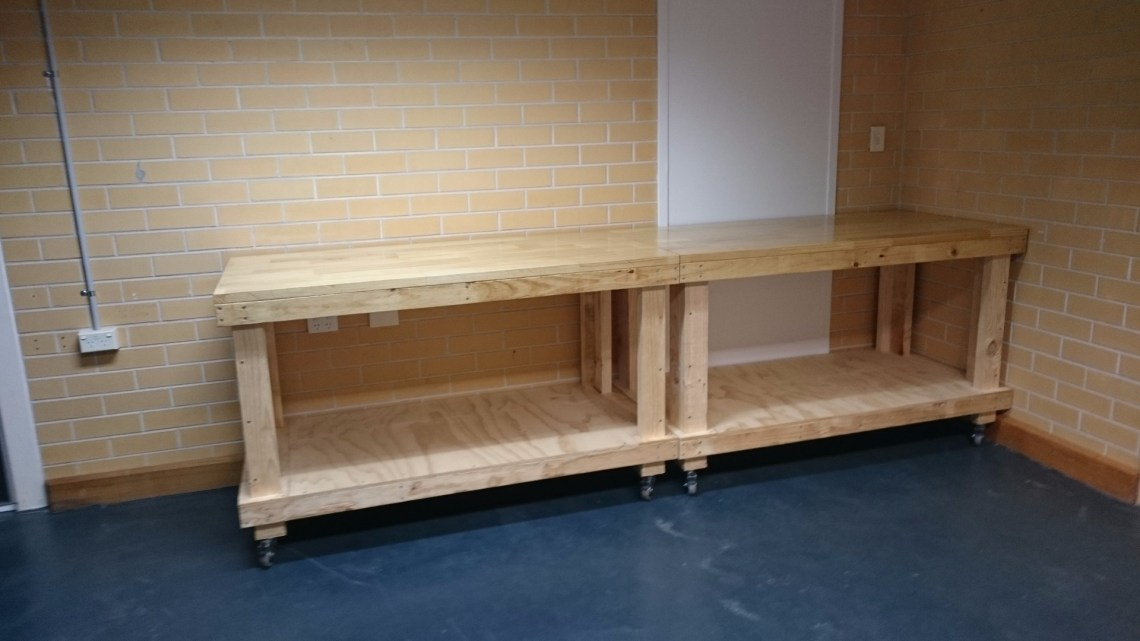 Finish Benches