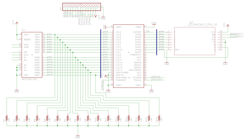 medium resolution of  keyboard keyboard pinout