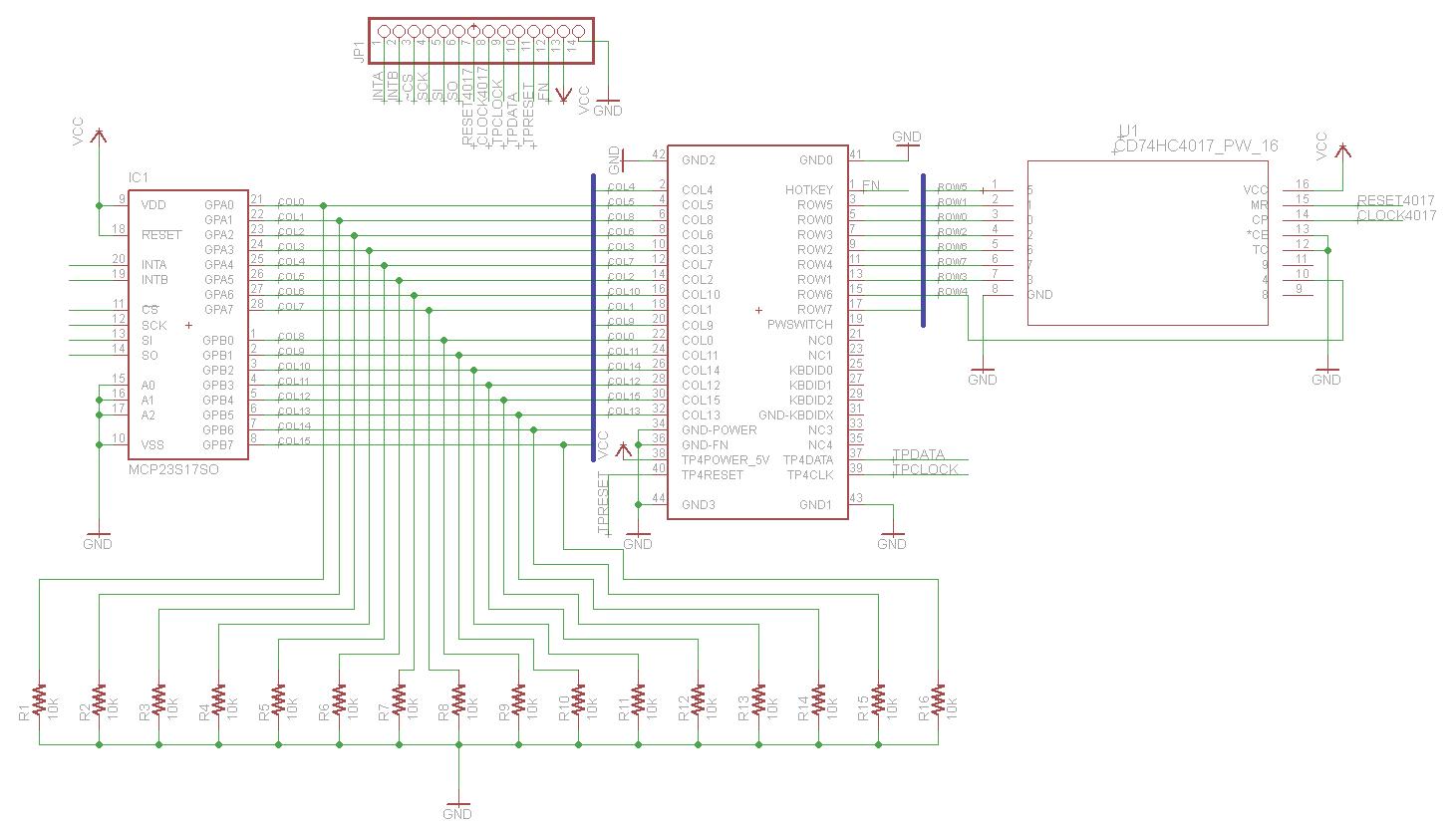 hight resolution of  keyboard keyboard pinout