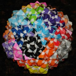 Cool Modular Origami Diagram Cat 5 Wiring Sonobe Polyhedra 4 Steps With Pictures