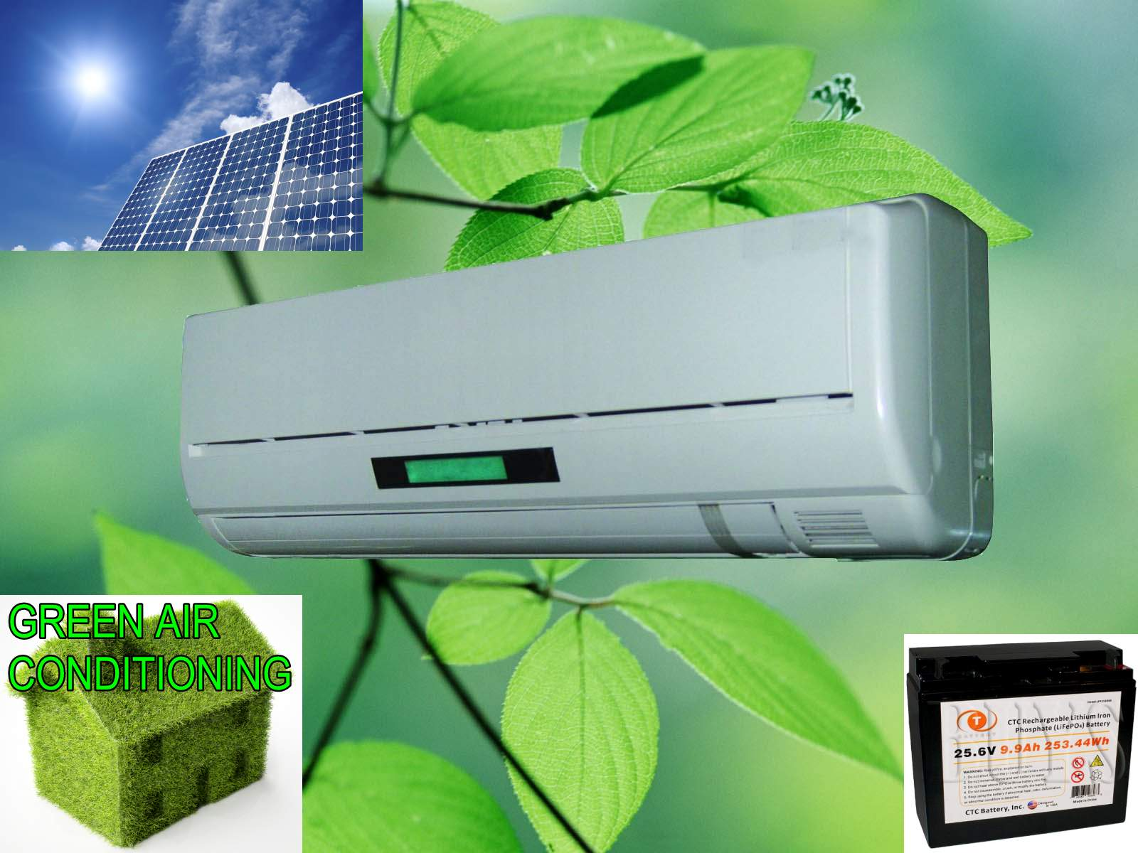 small resolution of solar powered air conditioning unit