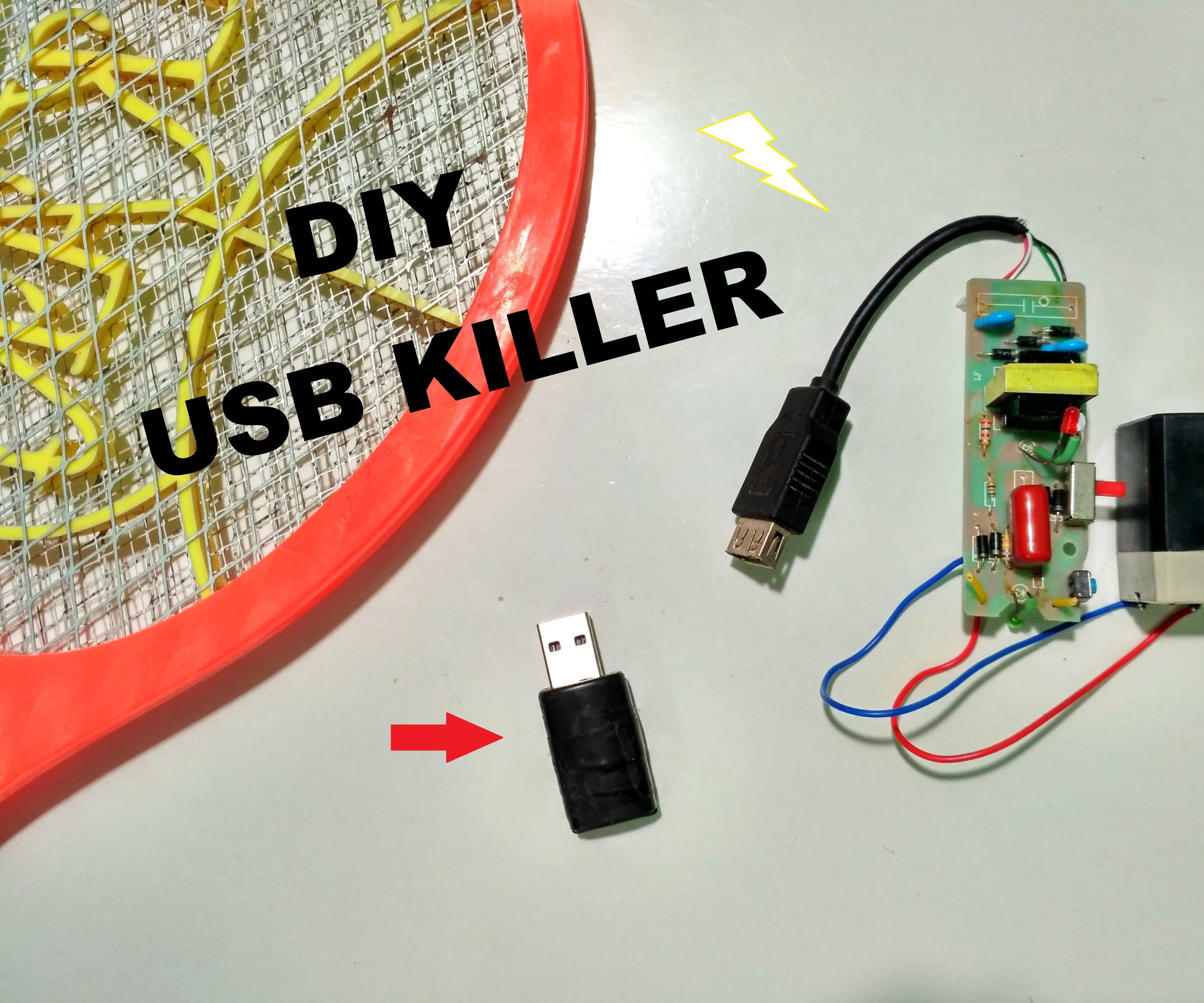 small resolution of how to make an usb killer
