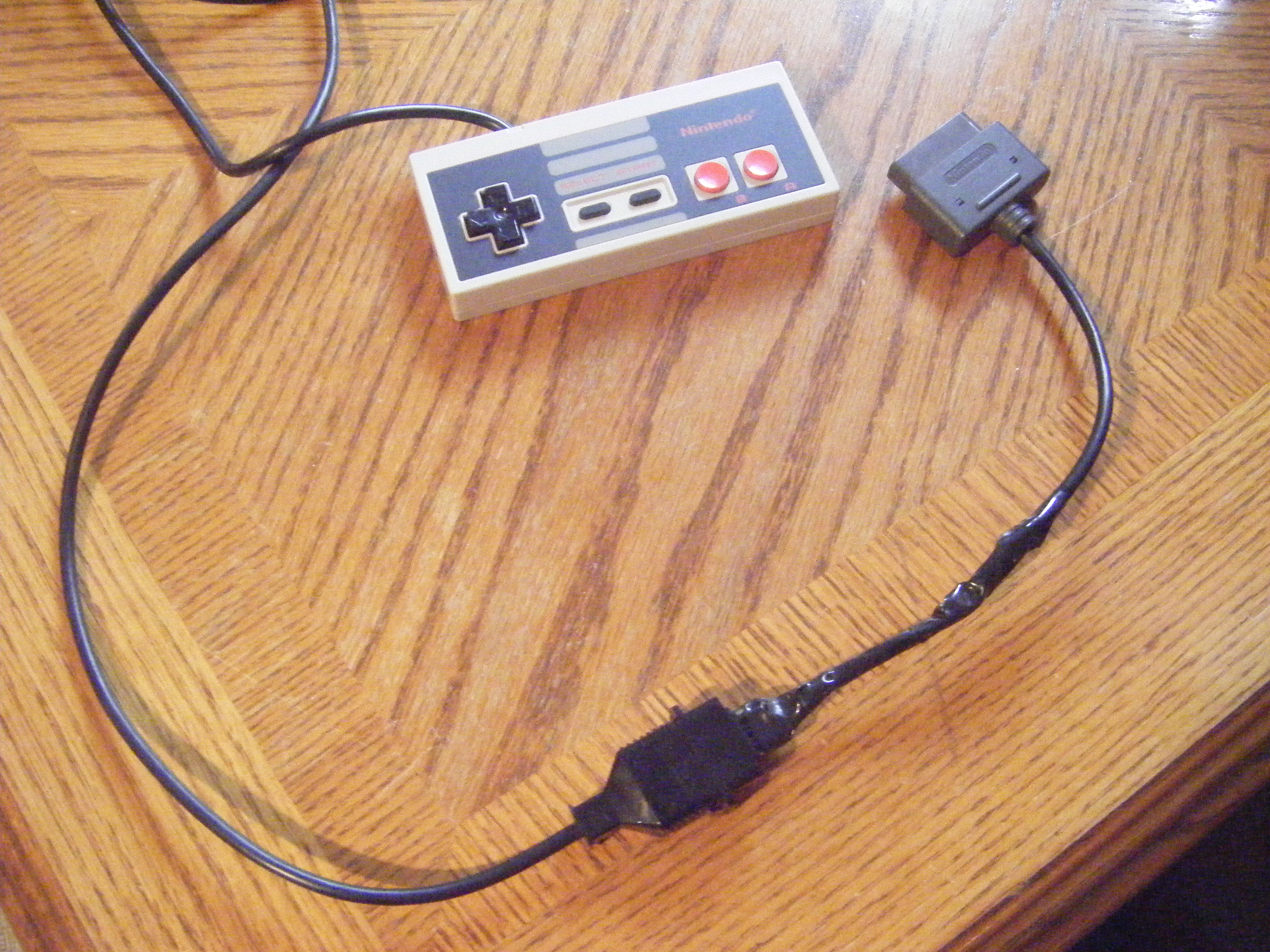 how to make a nes to snes adapter [ 2100 x 1575 Pixel ]