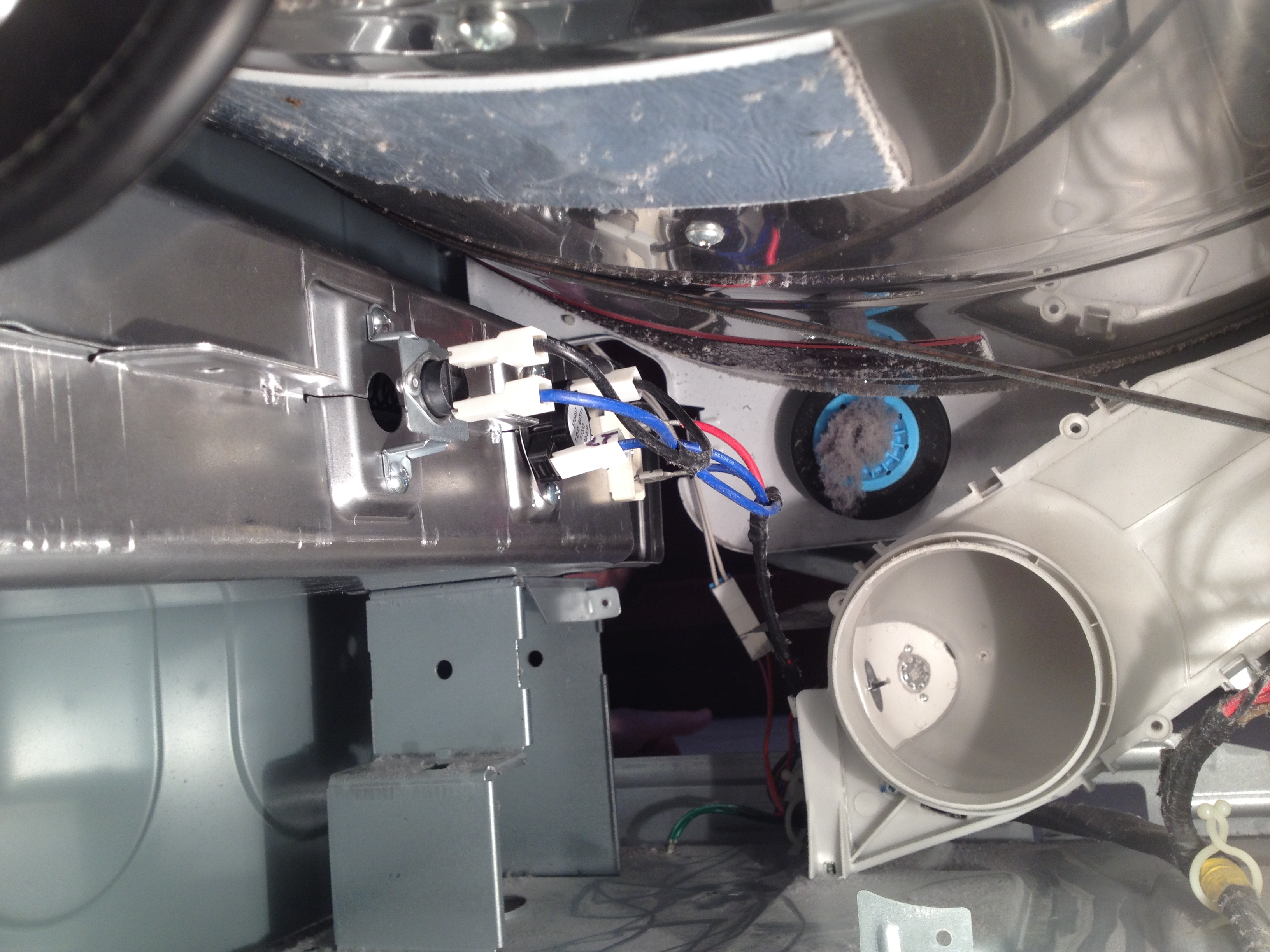 small resolution of samsung he clothes dryer heating element replacement