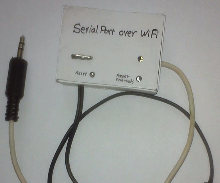 Serial Port Over WiFi