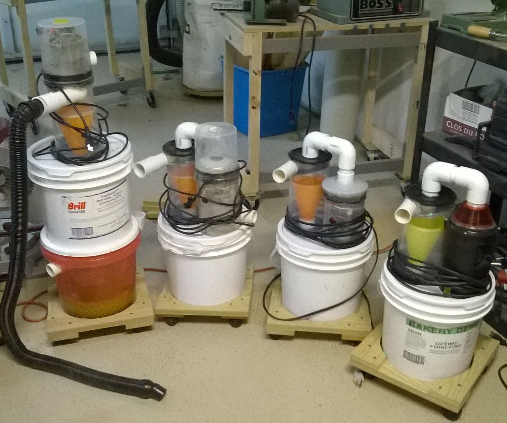 Dust Collector Separator Lid