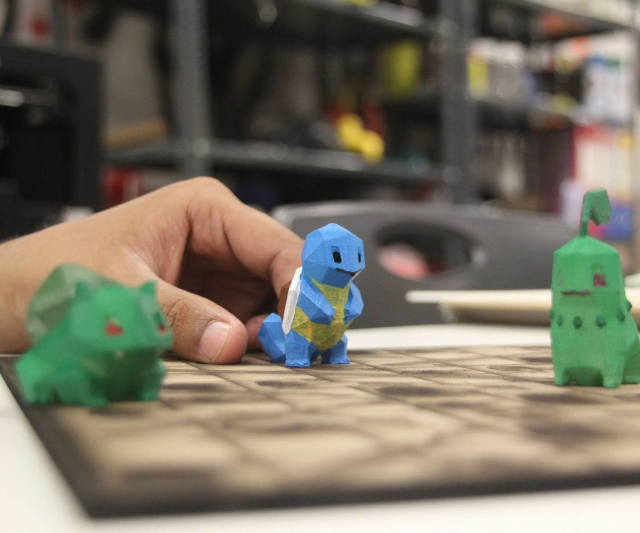 3d printed pokemon s