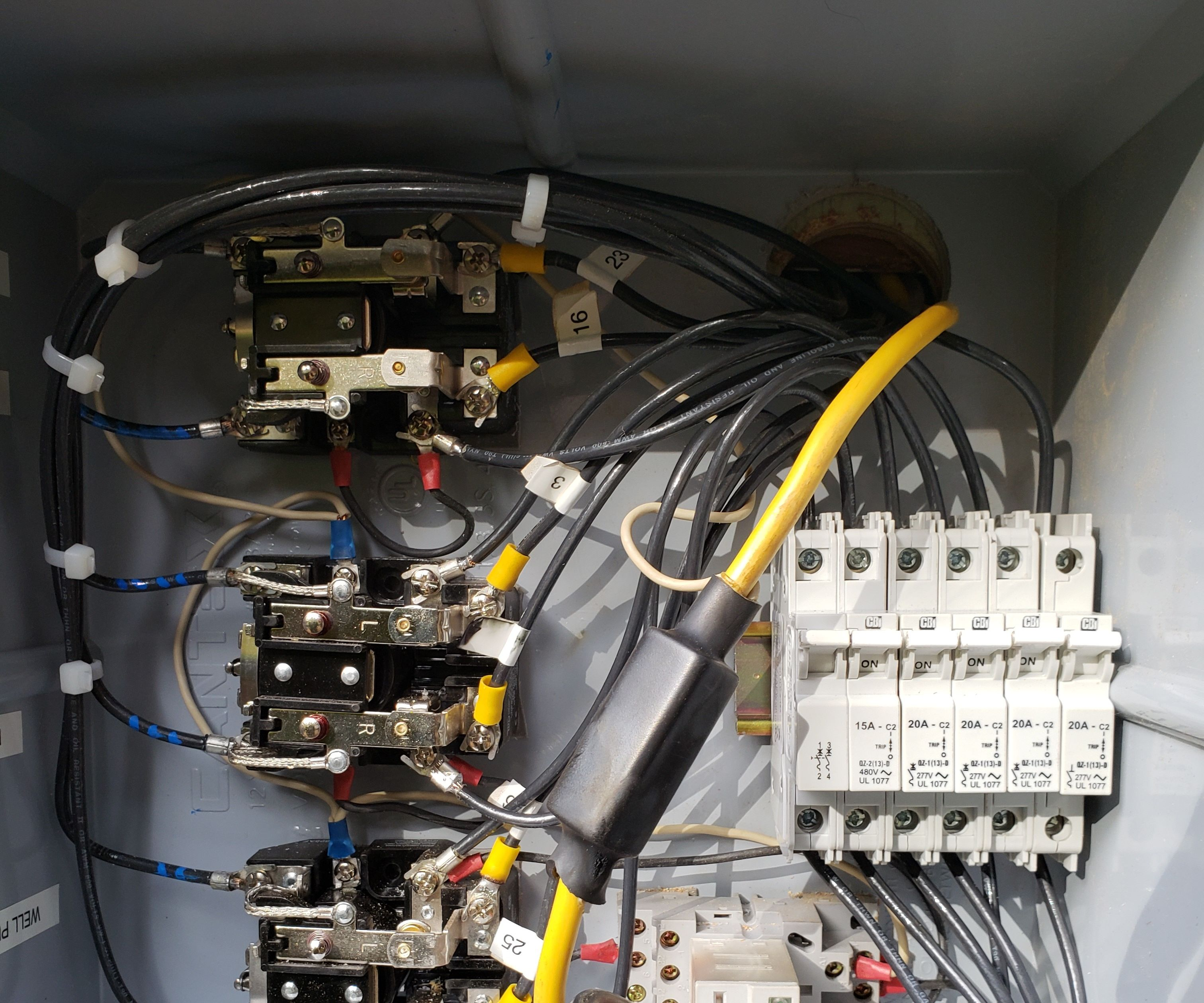 small resolution of home built wind generator transfer switch wiring