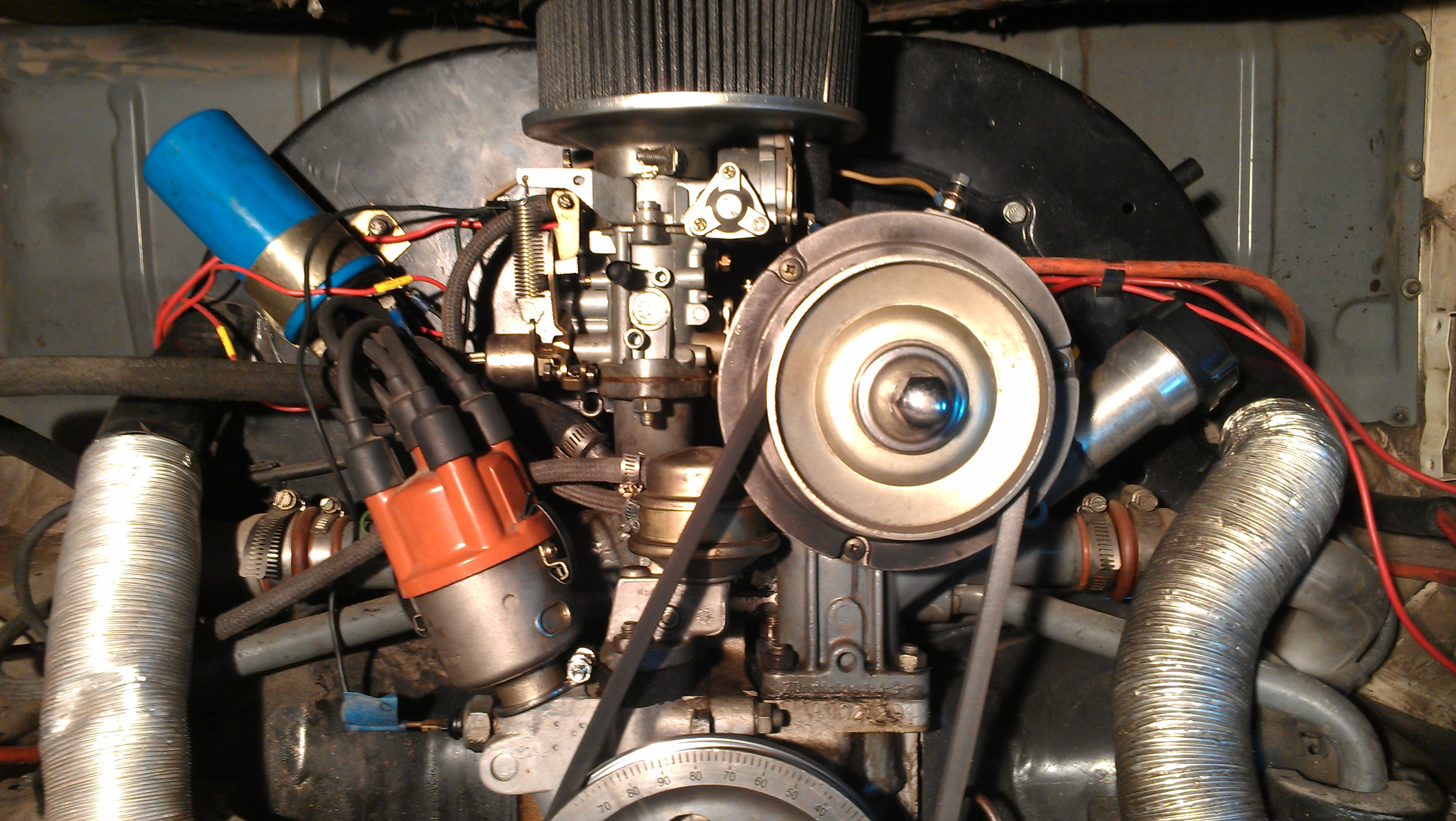 medium resolution of alternator replacement volkswagen upright type i motor 7 steps with pictures
