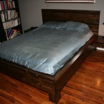 Diy Platform Bed With Floating Nightstands 9 Steps With
