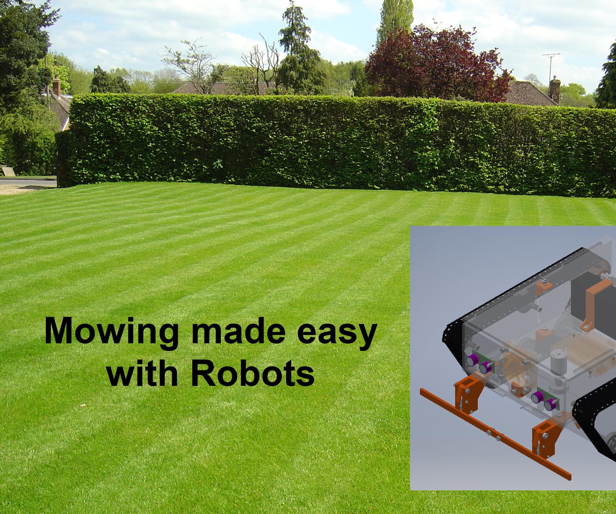medium resolution of  zero the lawnmower robot 8 steps on van wiring diagram zero turn mower diagram