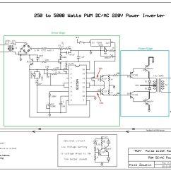 5000 Watt Amplifier Circuit Diagram Grundfos Cr Pump Wiring Watts Diagrams Library 250 To Pwm Dc Ac 220v Power Inverter