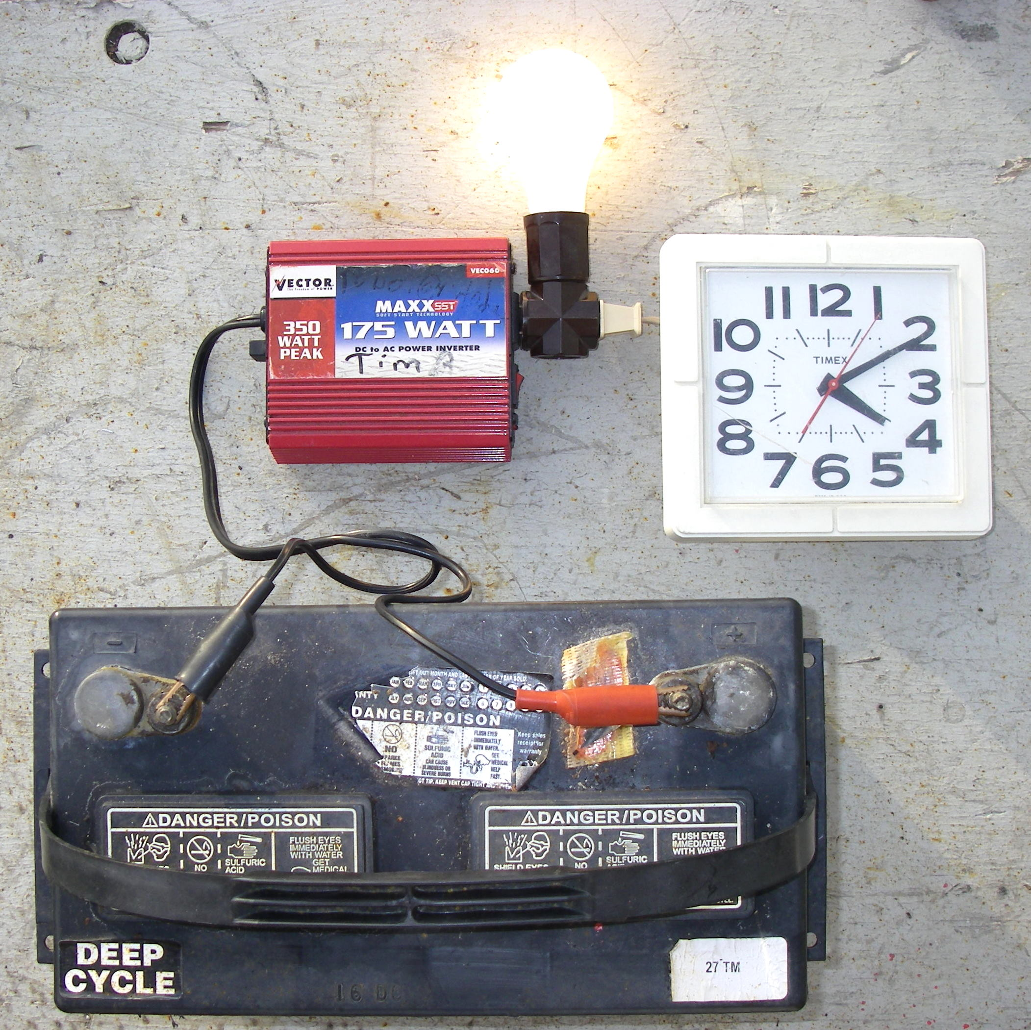 Hobby Circuit Battery Amphour Capacity Tester