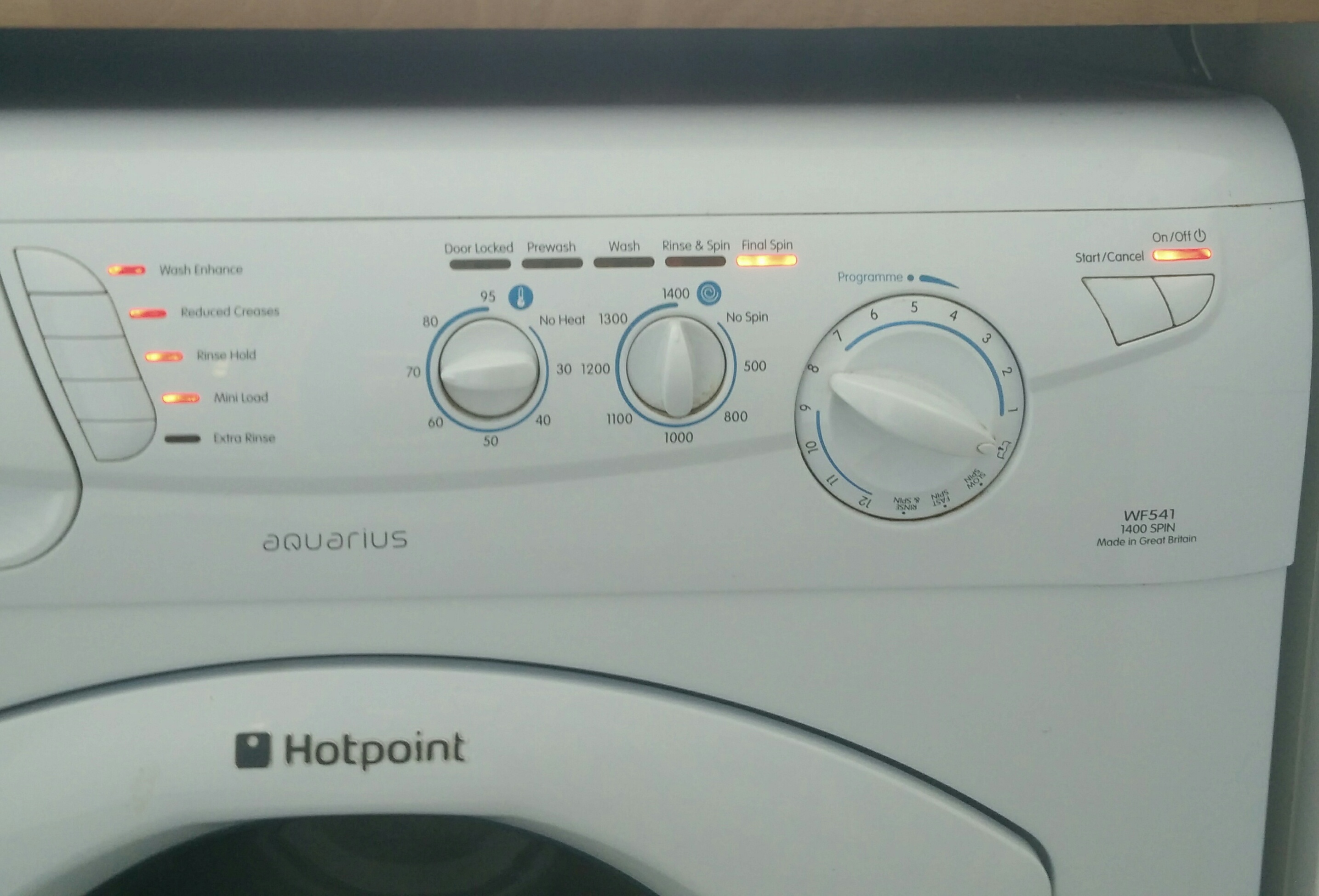 small resolution of hotpoint aquarius wf541 flashing lights of death fix repair