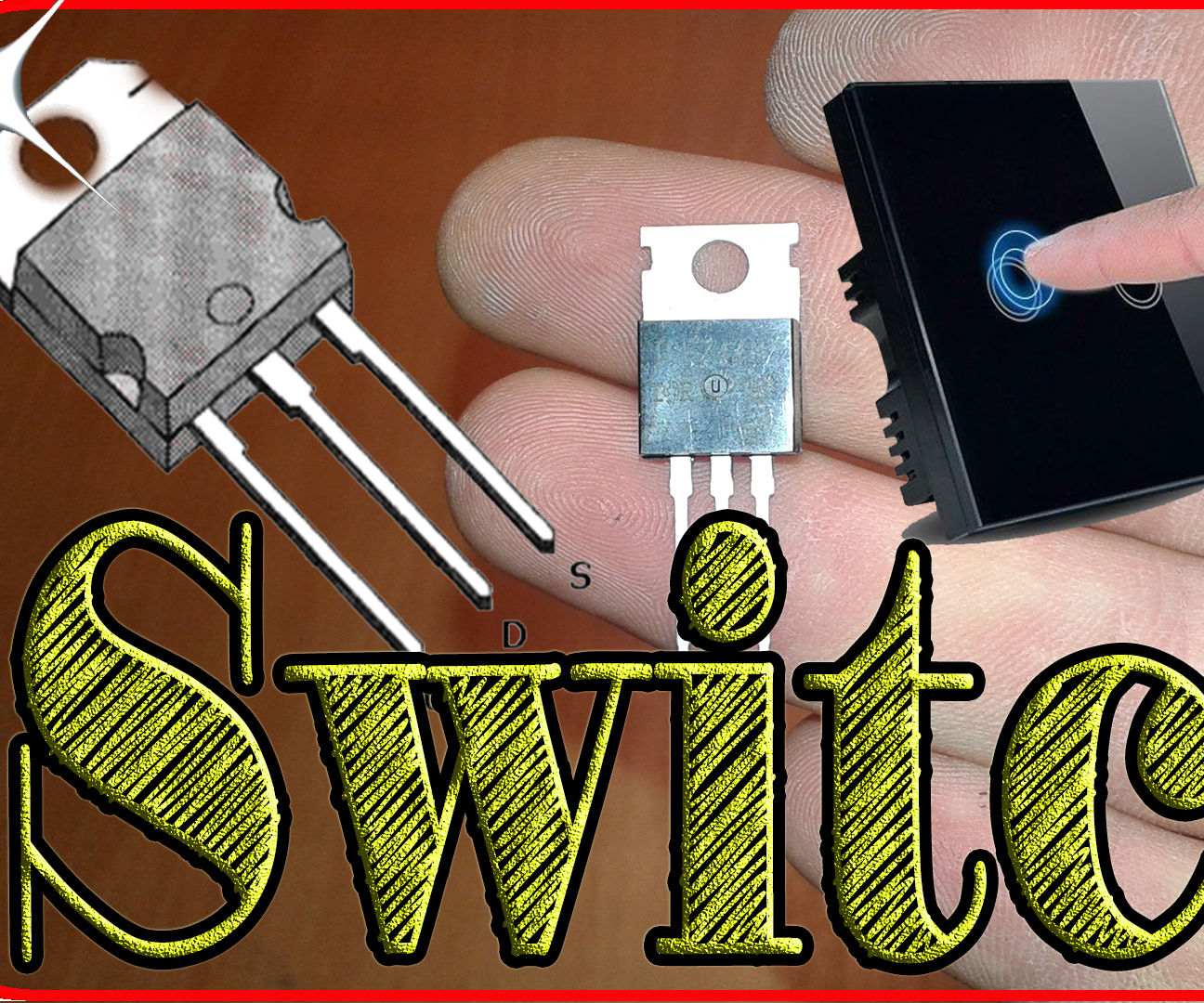 how to make a touch switch using one mosfet by noskillsrequiredn in circuitselectronics [ 1296 x 1080 Pixel ]