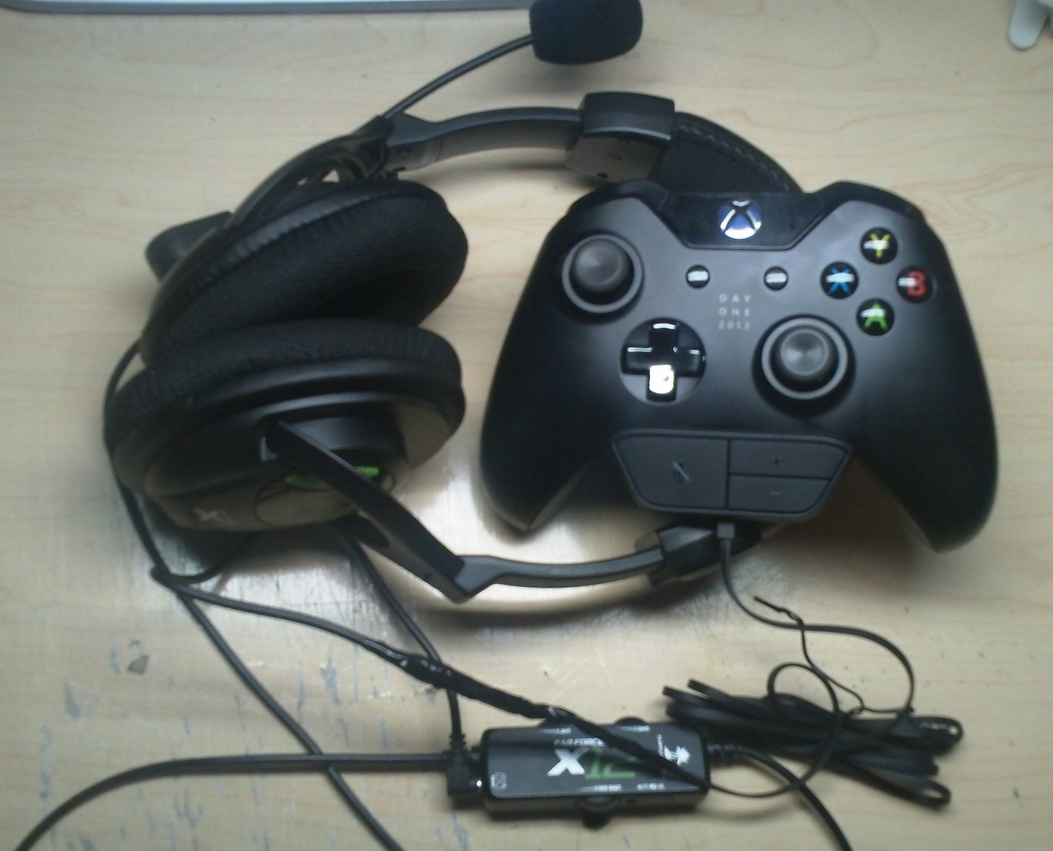 hight resolution of xbox 360 to xbox one headset diy conversion turtle beach