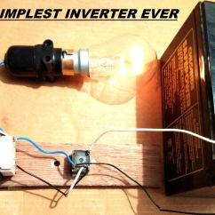 240v To 12v Transformer Wiring Diagram Electrical Two Lights One Switch Simplest 220v Dc Ac Power Inverter Diy 3 Steps With