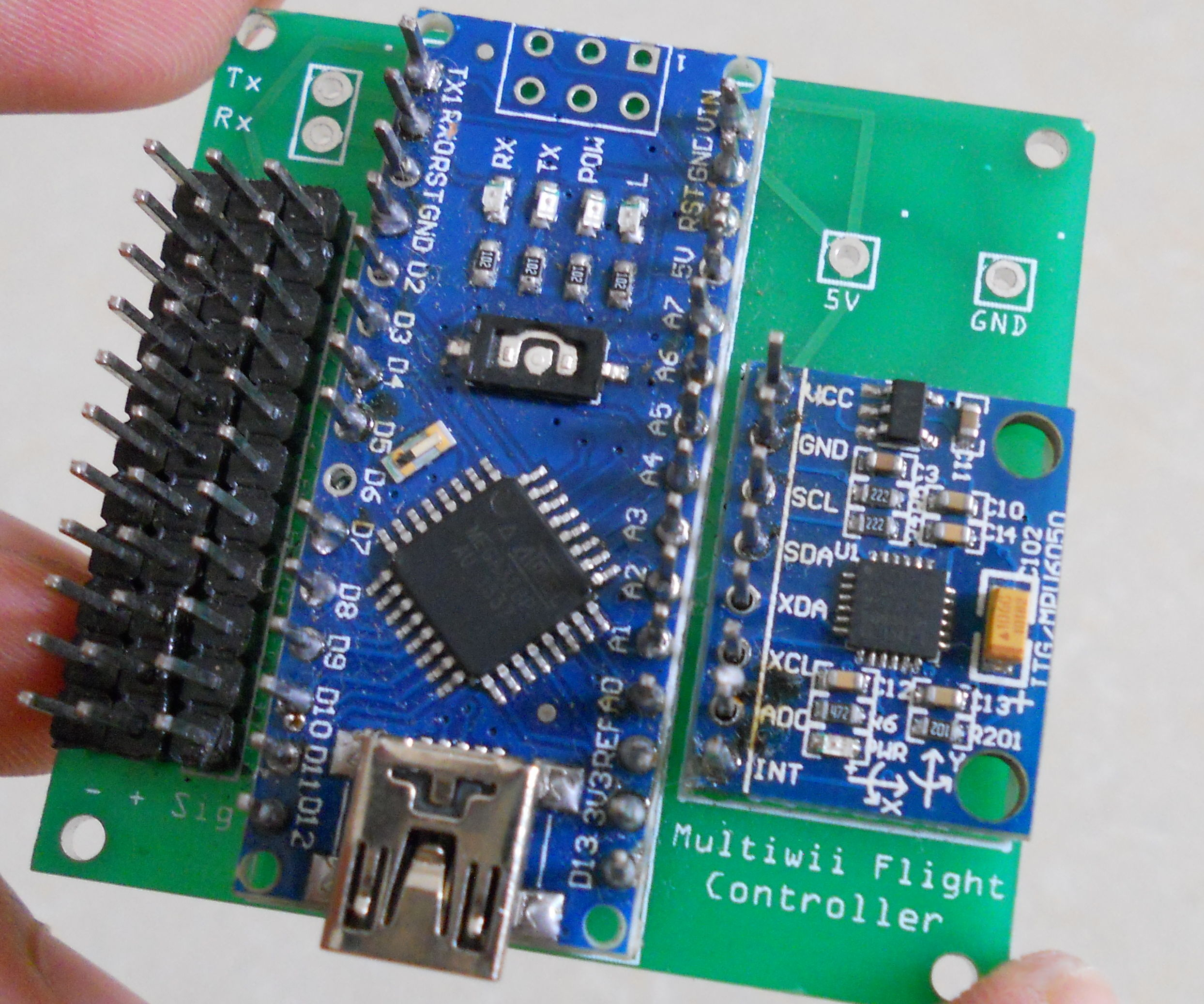 medium resolution of multiwii pro 2 wiring diagram wiring library diy arduino controled multiwii flight controller 7 steps