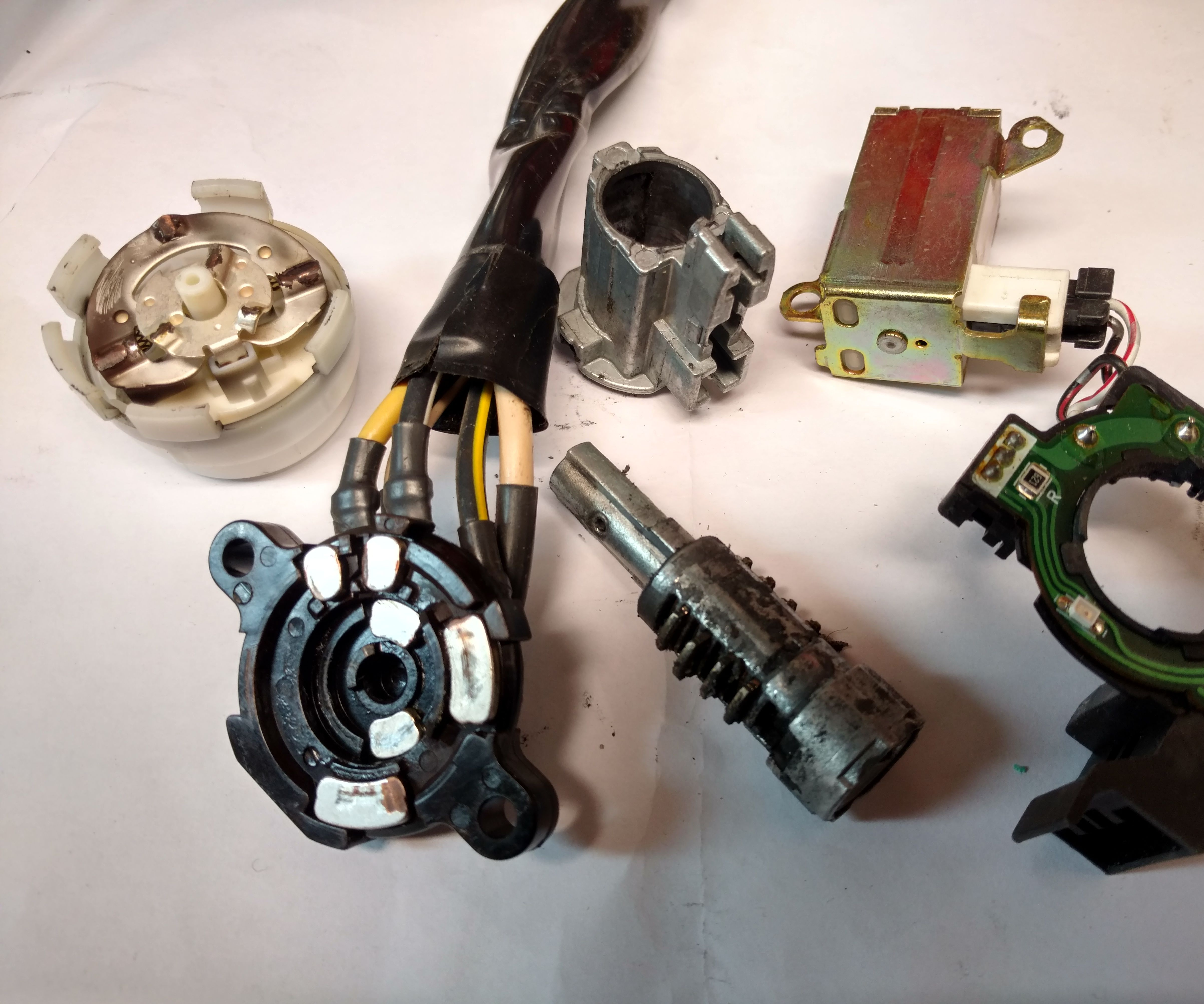 hight resolution of replace ignition assembly on a 2000 honda odyssey