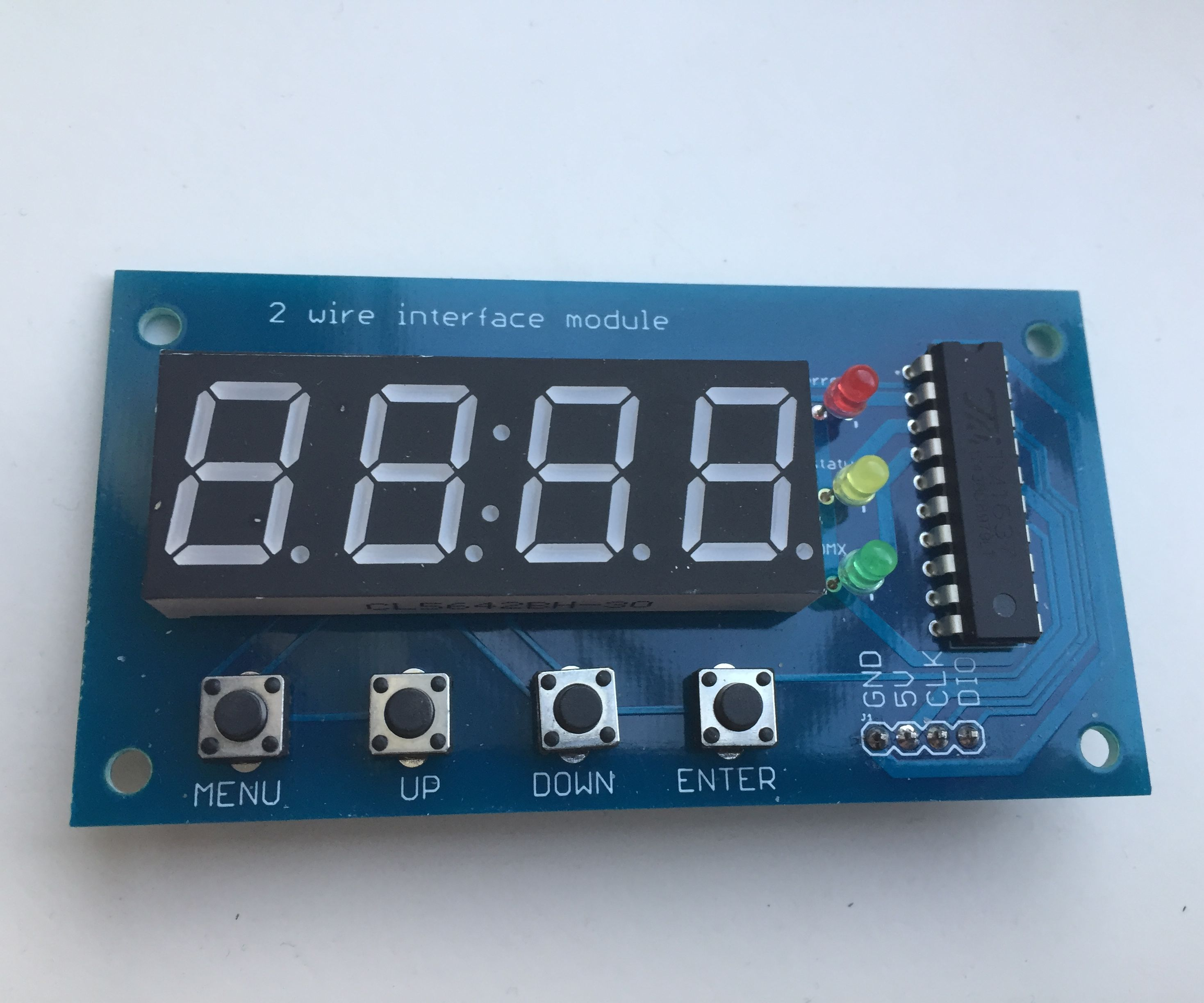 small resolution of two wire dmx interface with screen and buttons