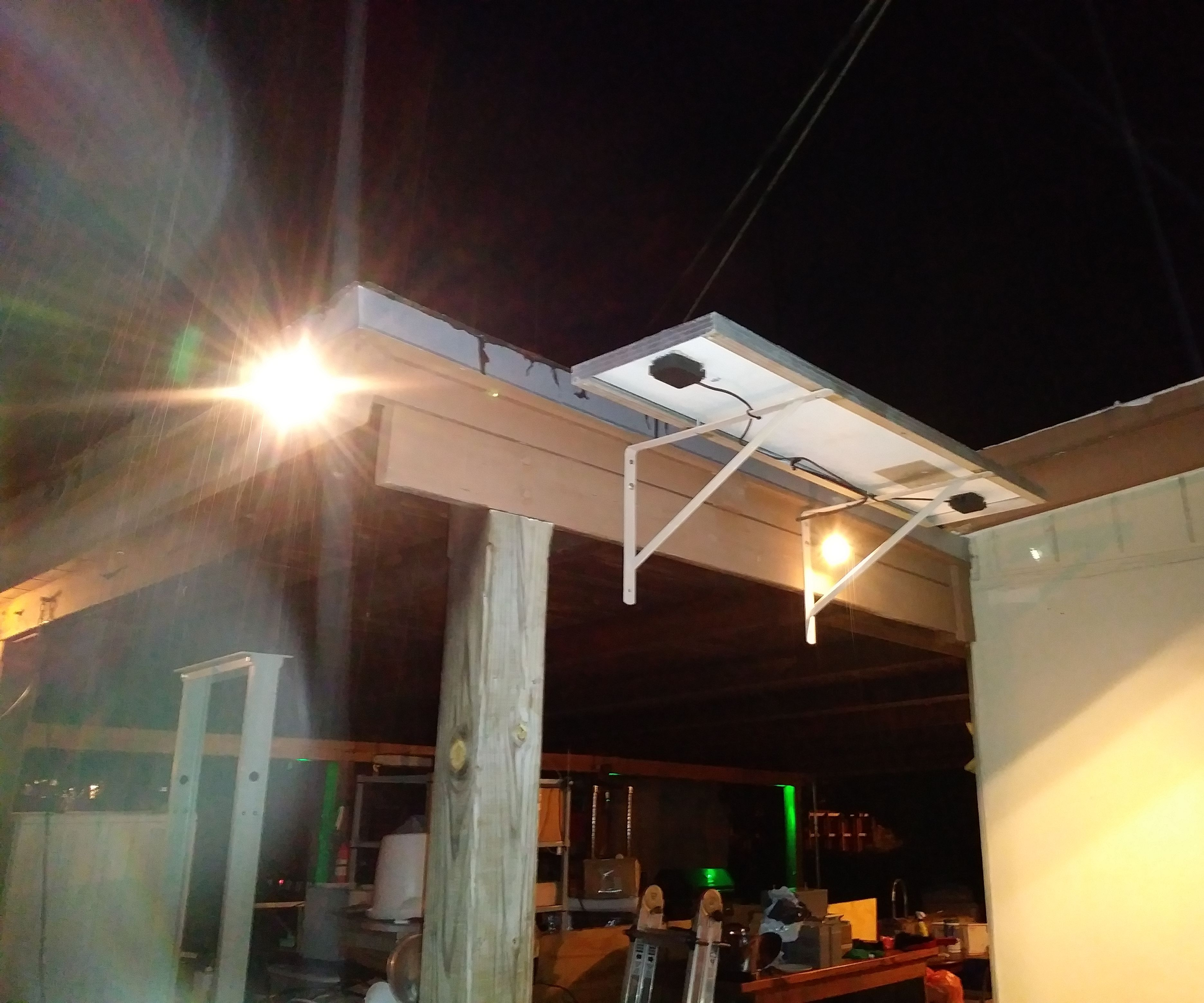 solar powered led yard lighting made cheap easy 9 steps with pictures  [ 2100 x 1750 Pixel ]