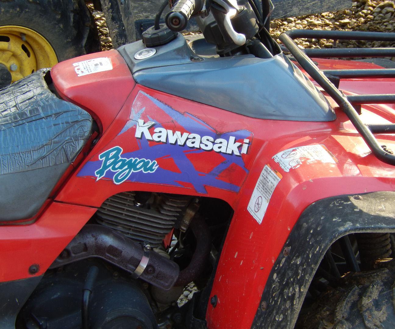 troubleshooting repairing a kawasaki bayou klf300 atv electrical charging system [ 1296 x 1080 Pixel ]