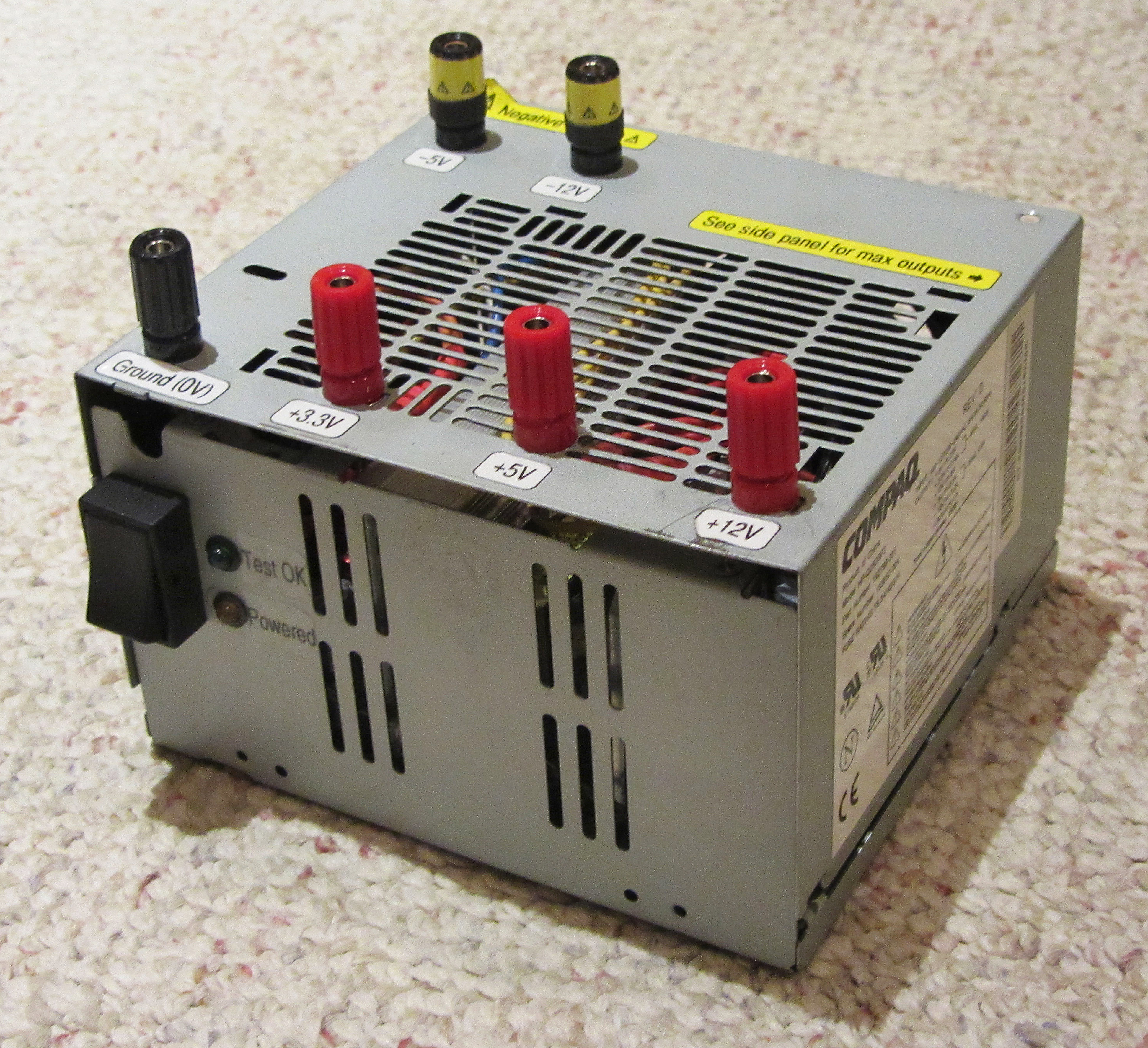 small resolution of a maker s guide to atx power supplies 6 steps compaq rack server power supply pinout diagram pinoutsru