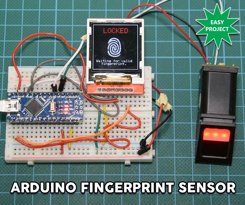 arduino fingerprint sensor tutorial [ 1227 x 1023 Pixel ]