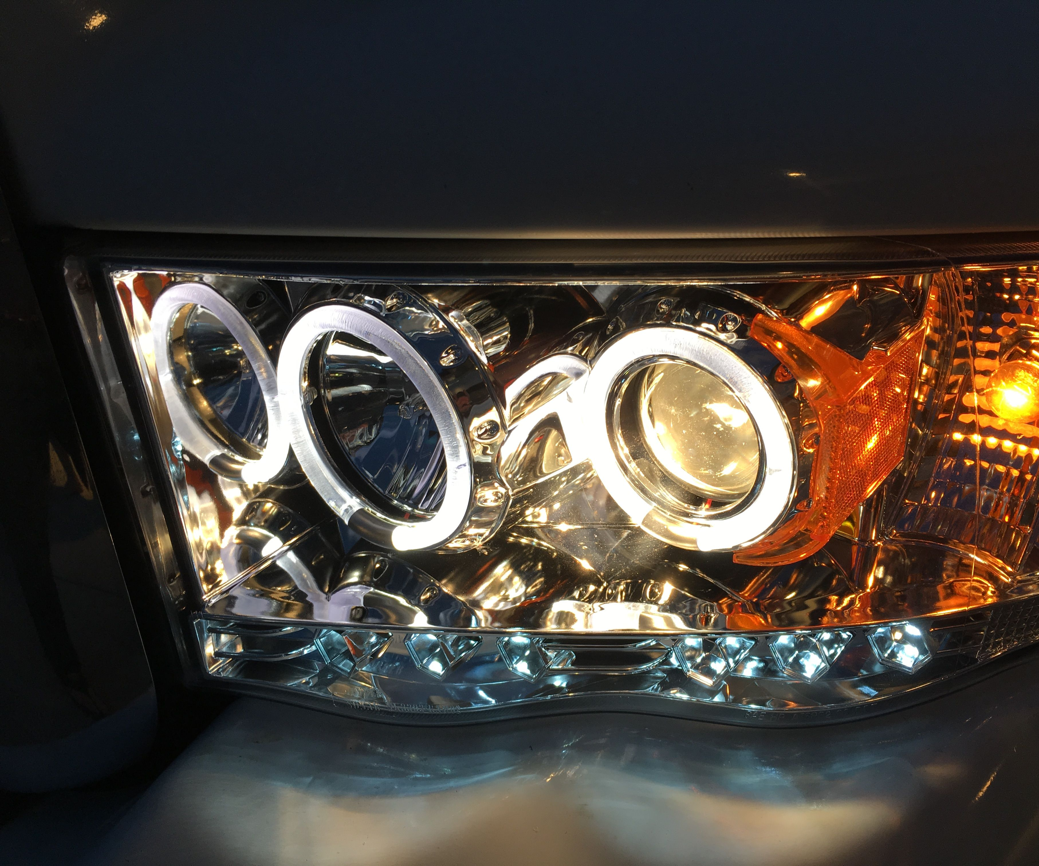 small resolution of installing halo headlights on a 2004 dodge ram pickup