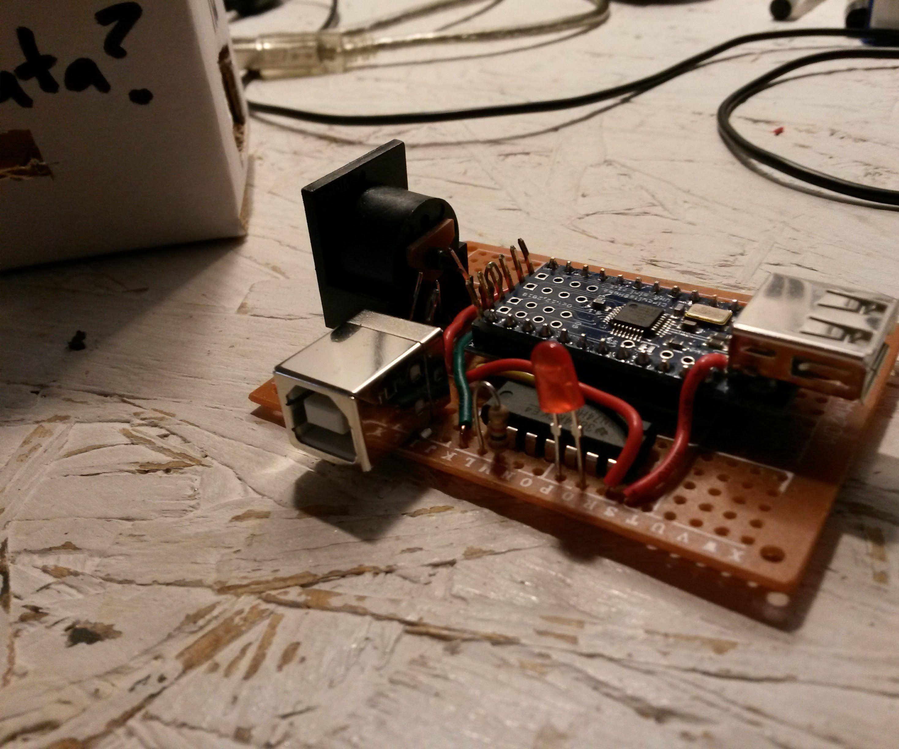 arduino usb to legacy midi converter [ 2100 x 1750 Pixel ]