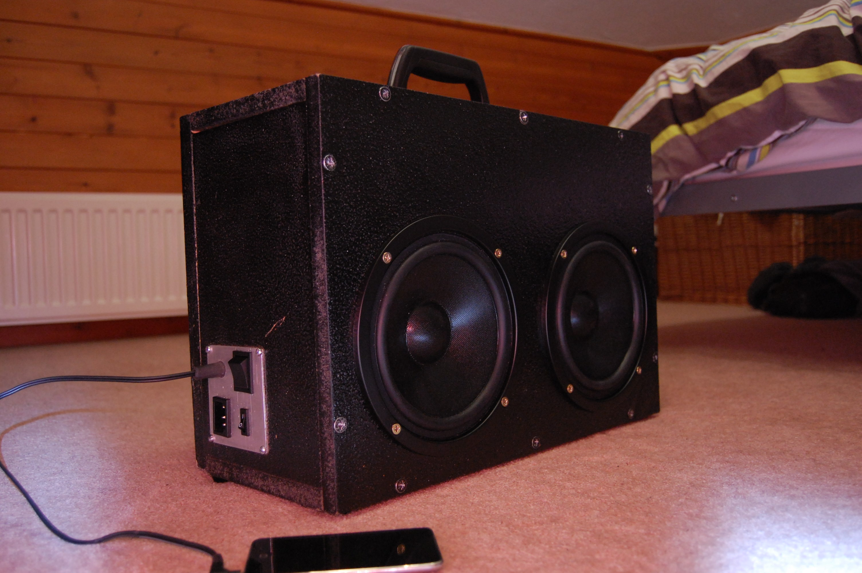 200w boombox how to build  [ 2100 x 1396 Pixel ]