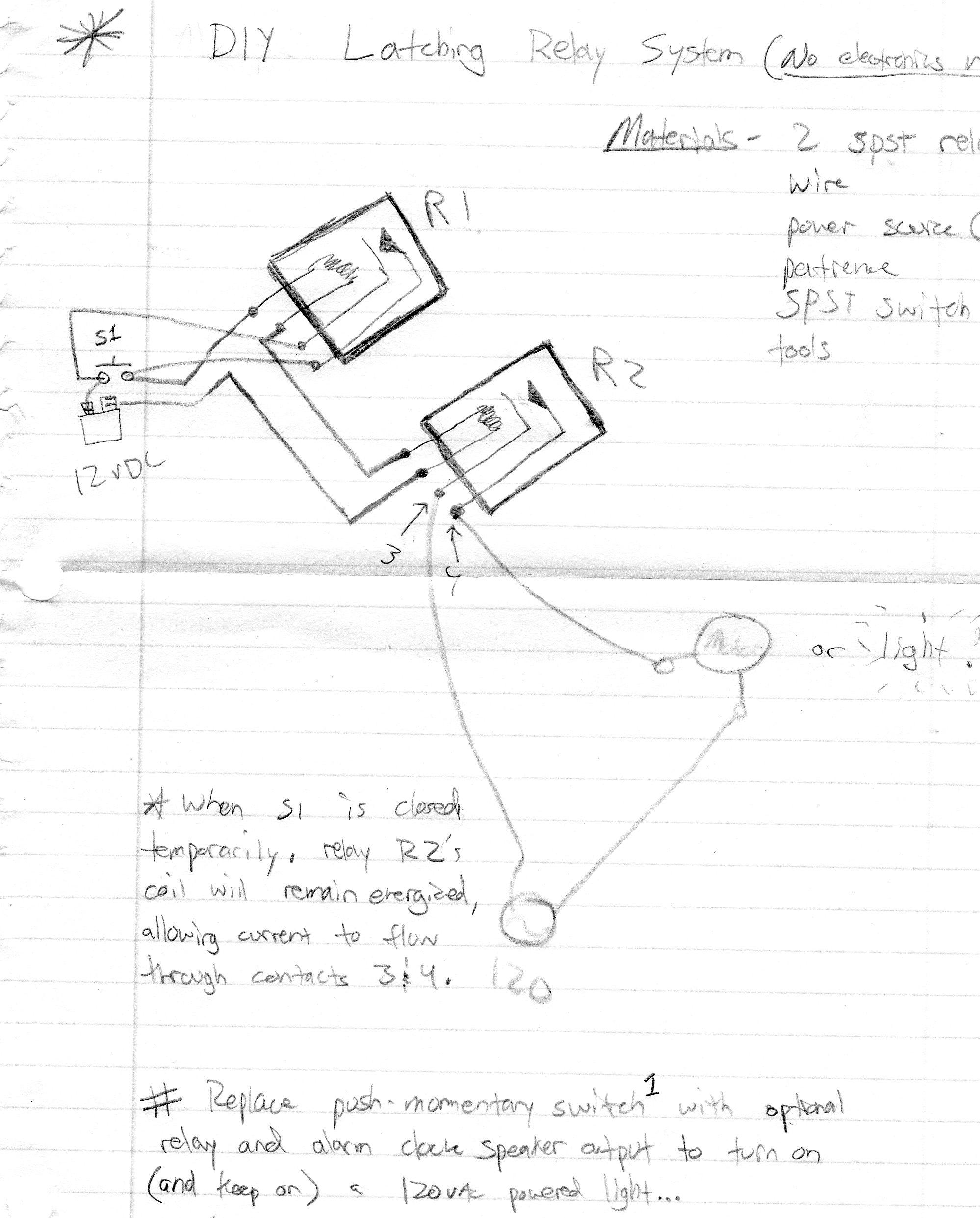 momentary relay diagram [ 1998 x 2483 Pixel ]