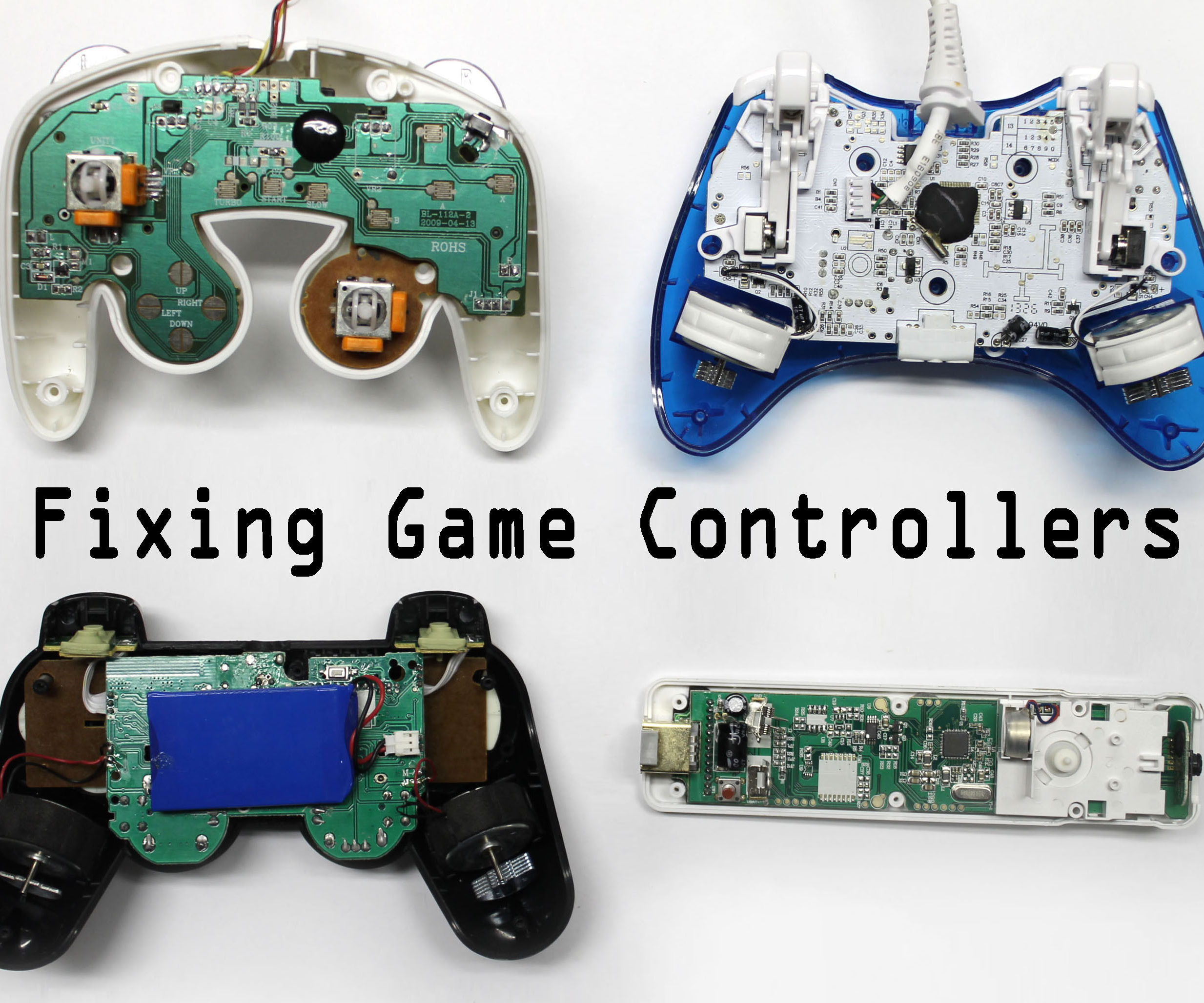 gamecube controller wiring diagram right stick [ 2100 x 1750 Pixel ]