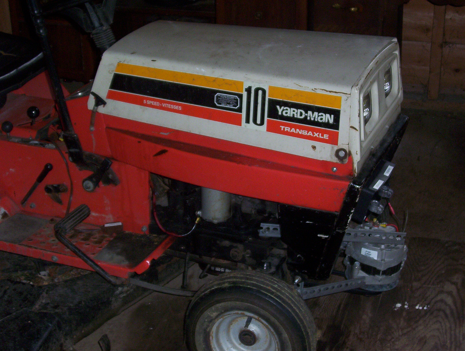 small resolution of homebuilt generator riding lawn mower 1kw