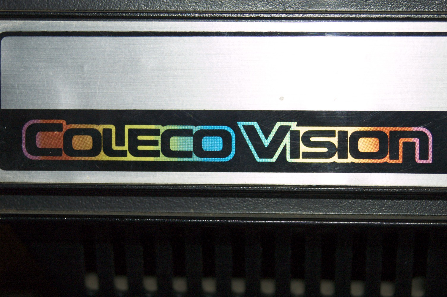 hight resolution of colecovision composite video