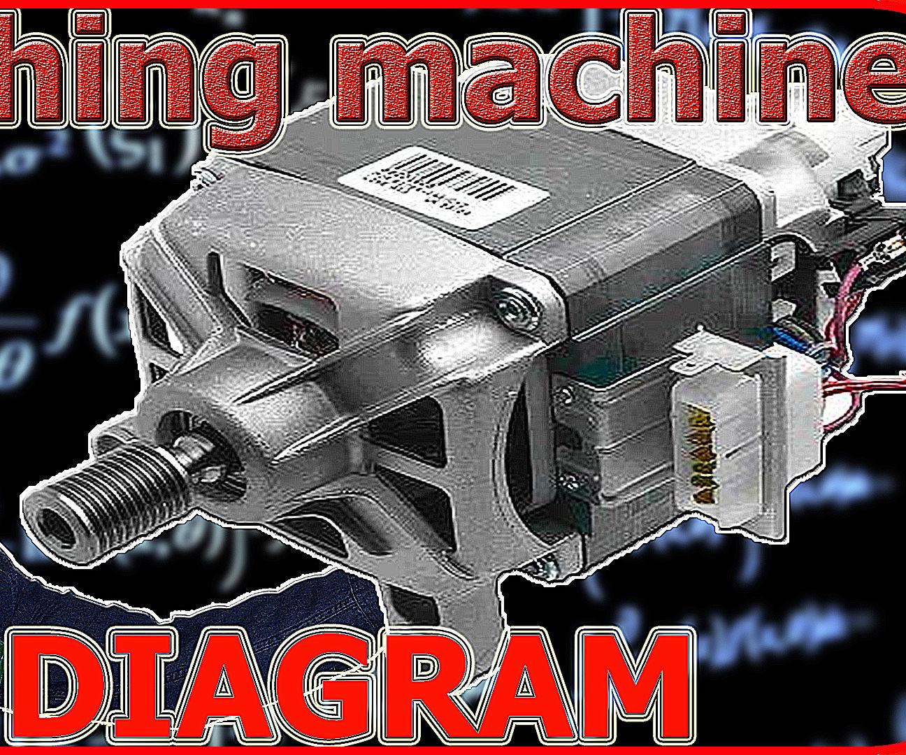 washing machine motor wiring diagram [ 1296 x 1080 Pixel ]