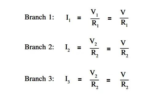Parallel Circuit Current Calculations Instrumentation Tools