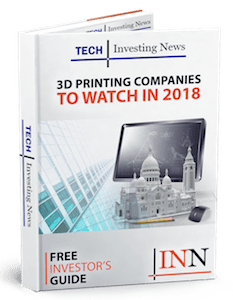 3D printing market stocks report