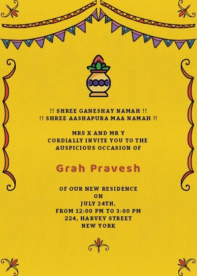 Grah Pravesh Colors