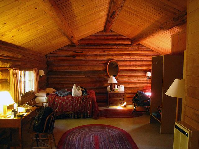 ipernity Colter Bay Village Cabin Interior 3640  by