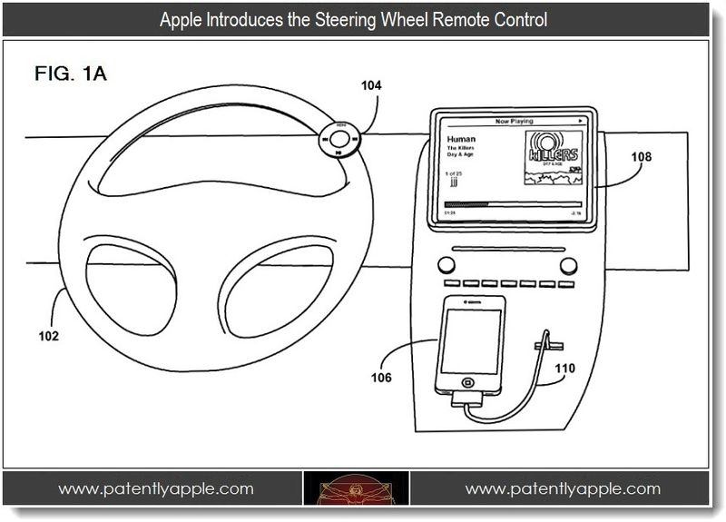 Will Apple Release A Steering Wheel Remote Control For iOS