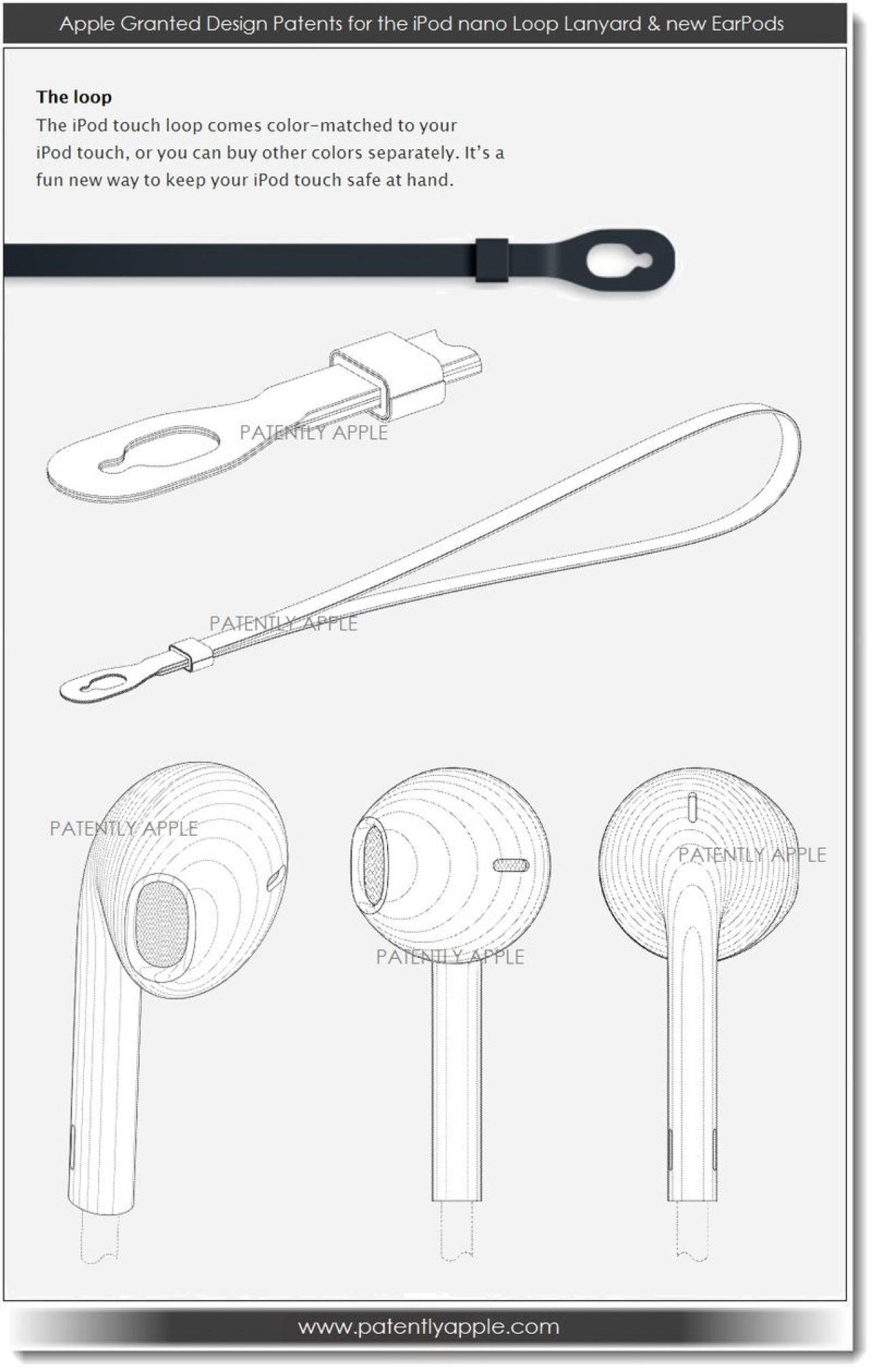 Apple Wins Design Patents For 7th Generation iPod Nano