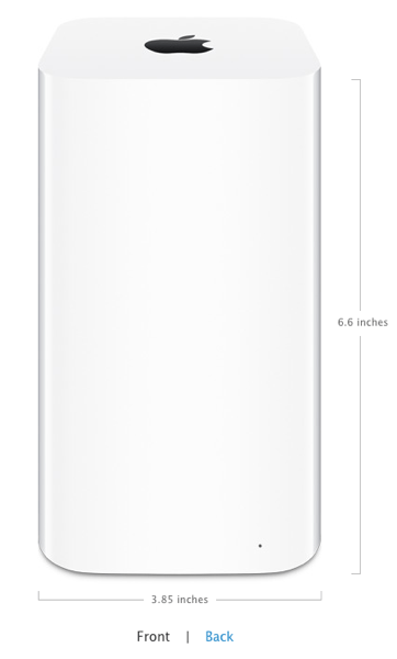 Apple Launches New Airport Time Capsule for $299 CDN