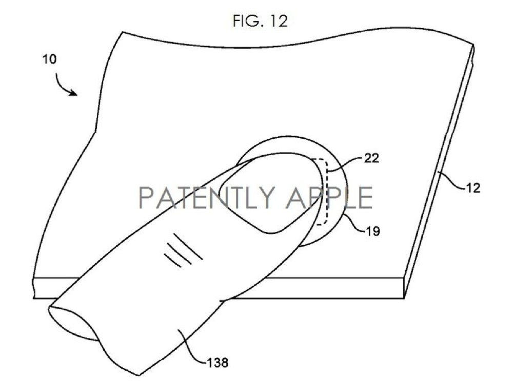 Patent Details Apple's Fingerprint Scanner With NFC Built
