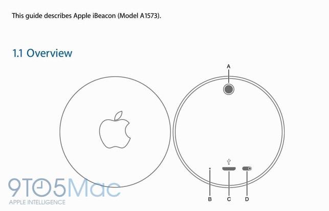 FCC Leaks Apple's Unreleased iBeacon Hardware in User