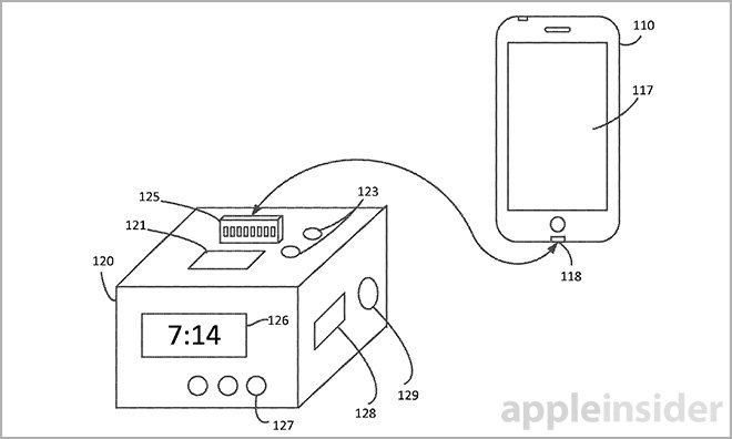 Apple Patents iPhone Dock with Display, Inductive Charging