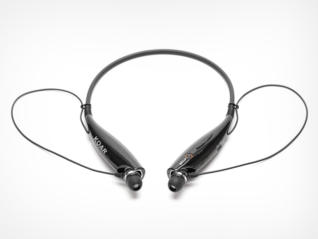 KZR Bluetooth Neckband Headset on Sale for 56% Off