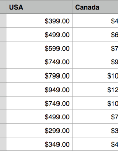 Apple usa vs canada prices compared ipad iphone watch chart in blog also rh iphoneincanada